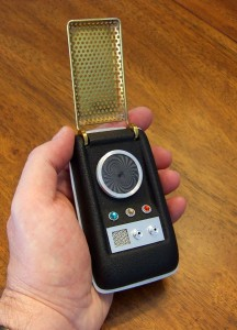Star Trek TOS Communicator (replica)