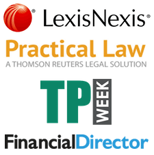 Featured legal publication logos